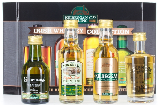 Cooley Collection 4 Mini Whisky