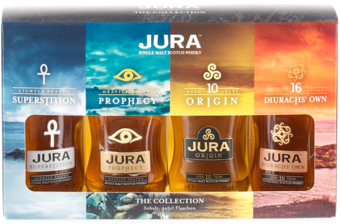 Isle of Jura Collection 4x0.05